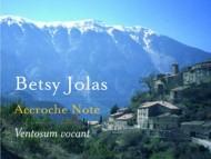 Betsy Jolas - Ventosum vocant